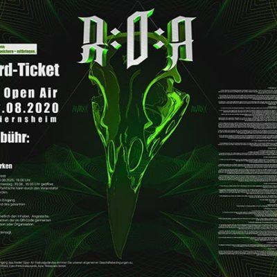 EarlyBirdTicket Riedler Open Air 2020