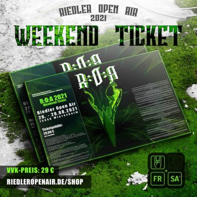 Weekend-Ticket-Teaser Riedler Open Air 2021