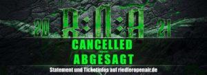 Absage Riedler Open Air 2021